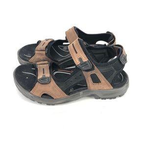 B27 ECCO Men's Yucatan Offroad Sport Sandals Shoes